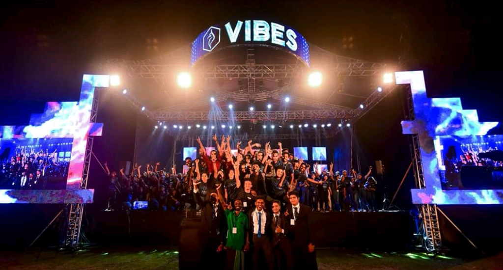VIBES - the biggest outdoor concert organized by a university in Sri Lanka